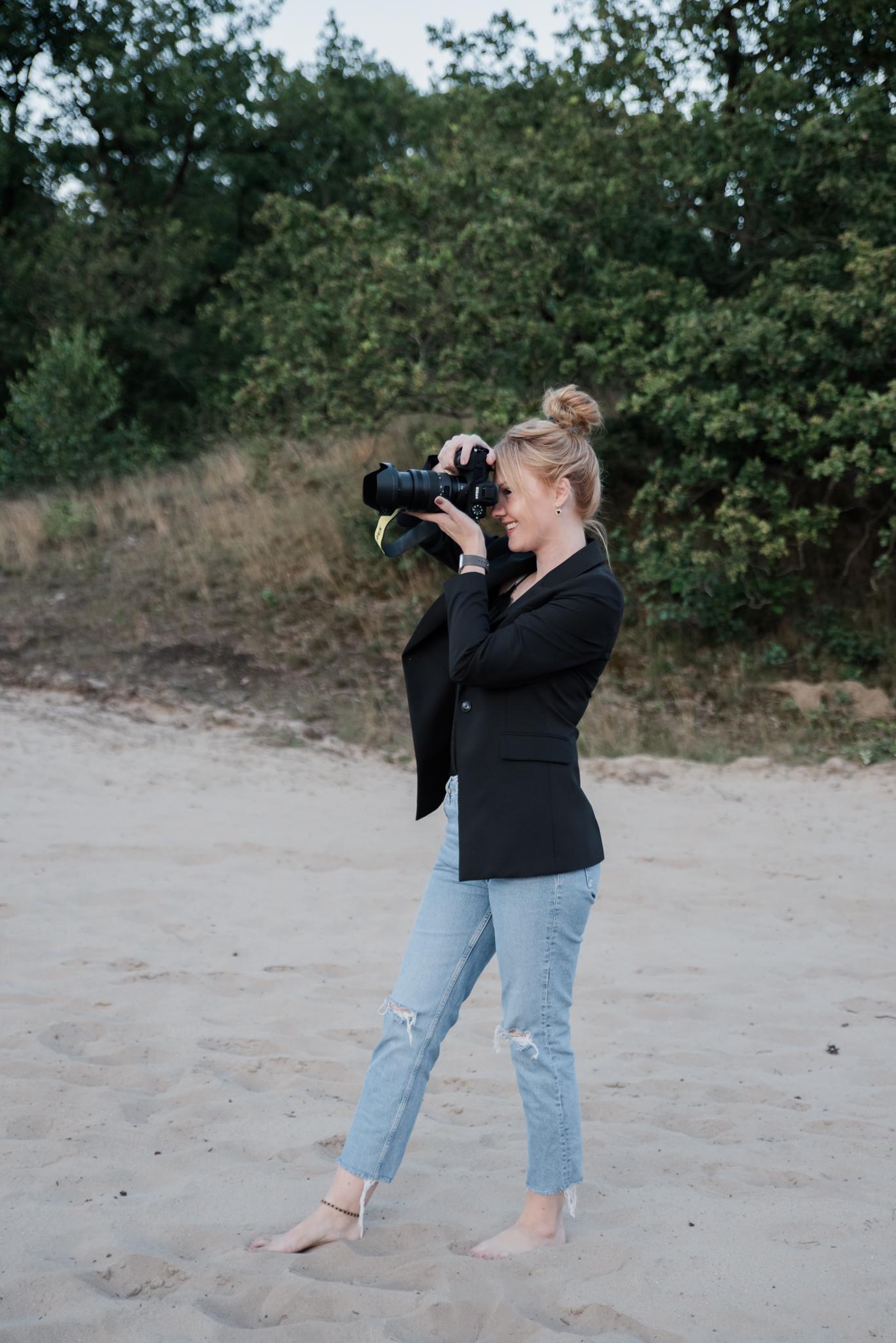 Kelly Petri - Fotoshoot op de hei 2