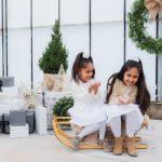 Kerst mini shoot Kareshma en dochters